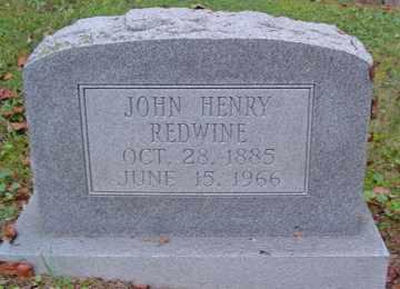 REDWINE, JOHN HENRY - Cumberland County, Tennessee | JOHN HENRY REDWINE - Tennessee Gravestone Photos