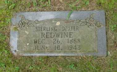 REDWINE, STERLING DEXTER - Cumberland County, Tennessee | STERLING DEXTER REDWINE - Tennessee Gravestone Photos