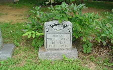 REDWINE, WILLIE LAVERN - Cumberland County, Tennessee | WILLIE LAVERN REDWINE - Tennessee Gravestone Photos