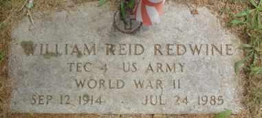 REDWINE  (VETERAN WWII), WILLIAM REID - Cumberland County, Tennessee | WILLIAM REID REDWINE  (VETERAN WWII) - Tennessee Gravestone Photos