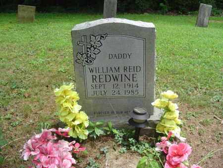REDWINE, WILLIAM REID - Cumberland County, Tennessee | WILLIAM REID REDWINE - Tennessee Gravestone Photos