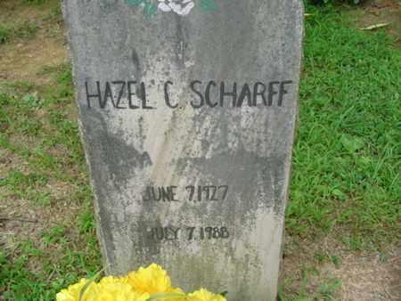 SCHARFF, HAZEL C. - Cumberland County, Tennessee   HAZEL C. SCHARFF - Tennessee Gravestone Photos