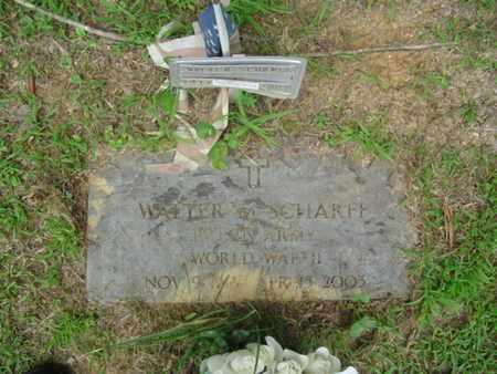 SCHARFF  (VETERAN WWII), WALTER M - Cumberland County, Tennessee   WALTER M SCHARFF  (VETERAN WWII) - Tennessee Gravestone Photos