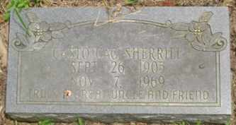"""SHERRILL, CASTO """"CAC"""" - Cumberland County, Tennessee 