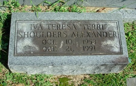 "ALEXANDER, IVA TERESA ""TERRI"" - Davidson County, Tennessee | IVA TERESA ""TERRI"" ALEXANDER - Tennessee Gravestone Photos"