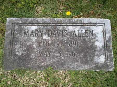 ALLEN, MARY - Davidson County, Tennessee | MARY ALLEN - Tennessee Gravestone Photos