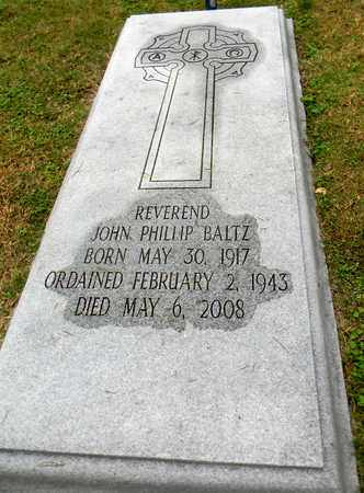 BALTZ, JOHN PHILLIP - Davidson County, Tennessee | JOHN PHILLIP BALTZ - Tennessee Gravestone Photos