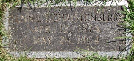 "TURBEVILLE CHRISTENBERRY, TENNESSEE ""TENNIE"" - Davidson County, Tennessee | TENNESSEE ""TENNIE"" TURBEVILLE CHRISTENBERRY - Tennessee Gravestone Photos"
