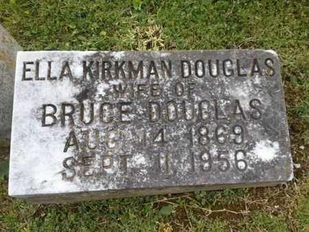 DOUGLAS, ELLA - Davidson County, Tennessee | ELLA DOUGLAS - Tennessee Gravestone Photos
