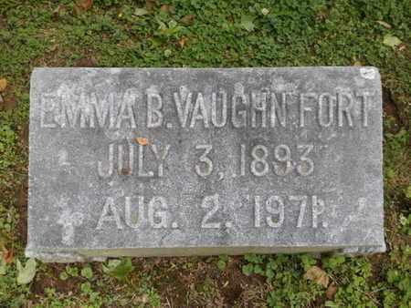 FORT, EMMA B - Davidson County, Tennessee | EMMA B FORT - Tennessee Gravestone Photos
