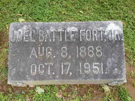 FORT, JOEL BATTLE (JR) - Davidson County, Tennessee | JOEL BATTLE (JR) FORT - Tennessee Gravestone Photos