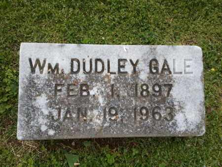 GALE, WILLIAM DUDLEY - Davidson County, Tennessee | WILLIAM DUDLEY GALE - Tennessee Gravestone Photos