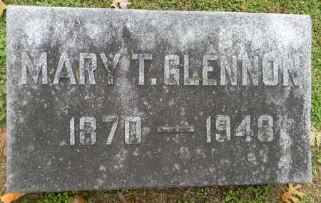 GLENNON, MARY T. - Davidson County, Tennessee | MARY T. GLENNON - Tennessee Gravestone Photos