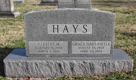 HAYS, GRACE - Davidson County, Tennessee | GRACE HAYS - Tennessee Gravestone Photos