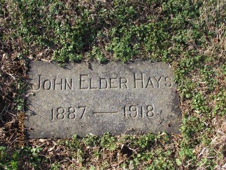 HAYS, JOHN ELDER - Davidson County, Tennessee | JOHN ELDER HAYS - Tennessee Gravestone Photos