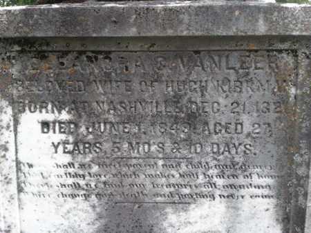 KIRKMAN, ELLANORA - Davidson County, Tennessee   ELLANORA KIRKMAN - Tennessee Gravestone Photos