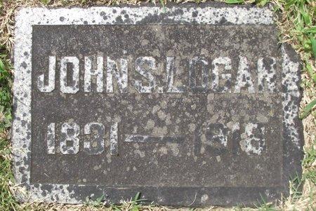 LOGAN, JOHN STEELE - Davidson County, Tennessee | JOHN STEELE LOGAN - Tennessee Gravestone Photos