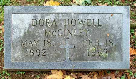 HOWELL MCGINLEY, DORA - Davidson County, Tennessee   DORA HOWELL MCGINLEY - Tennessee Gravestone Photos