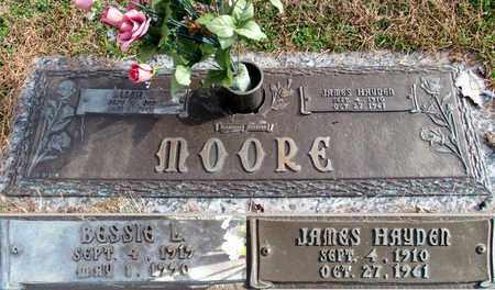 MOORE, JAMES HAYDEN - Davidson County, Tennessee   JAMES HAYDEN MOORE - Tennessee Gravestone Photos