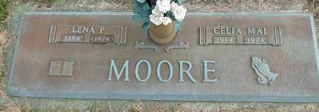 MOORE, LENA P. - Davidson County, Tennessee   LENA P. MOORE - Tennessee Gravestone Photos