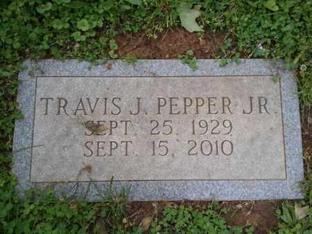 PEPPER, TRAVIS J (JR) - Davidson County, Tennessee | TRAVIS J (JR) PEPPER - Tennessee Gravestone Photos