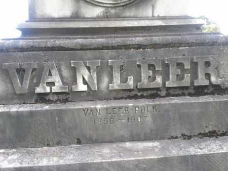POLK, VAN LEER - Davidson County, Tennessee | VAN LEER POLK - Tennessee Gravestone Photos