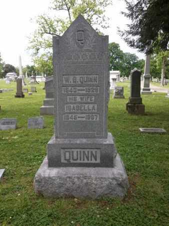 QUINN, ISABELLA - Davidson County, Tennessee | ISABELLA QUINN - Tennessee Gravestone Photos
