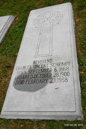 SCHRIMPF, CHARLES VINCENT - Davidson County, Tennessee | CHARLES VINCENT SCHRIMPF - Tennessee Gravestone Photos