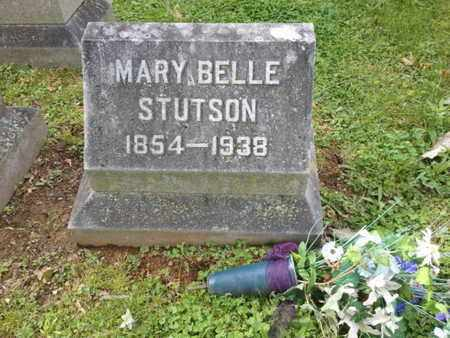 STUTSON, MARY BELLE - Davidson County, Tennessee | MARY BELLE STUTSON - Tennessee Gravestone Photos