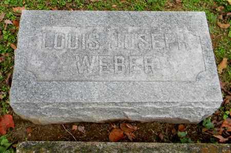 WEBER, LOUIS JOSEPH - Davidson County, Tennessee | LOUIS JOSEPH WEBER - Tennessee Gravestone Photos