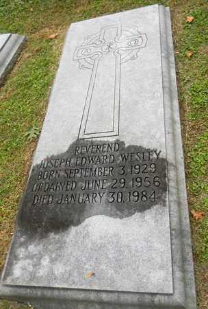 WESLEY, JOSEPH EDWARD - Davidson County, Tennessee | JOSEPH EDWARD WESLEY - Tennessee Gravestone Photos