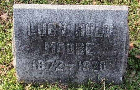 MOORE, LUCY - Davidson County, Tennessee | LUCY MOORE - Tennessee Gravestone Photos