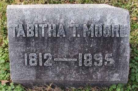 MOORE, TABITHA TURNER - Davidson County, Tennessee | TABITHA TURNER MOORE - Tennessee Gravestone Photos