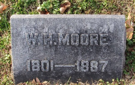 MOORE, WILLIAM HARVEY - Davidson County, Tennessee | WILLIAM HARVEY MOORE - Tennessee Gravestone Photos