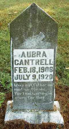 CANTRELL, AUBRA - DeKalb County, Tennessee | AUBRA CANTRELL - Tennessee Gravestone Photos