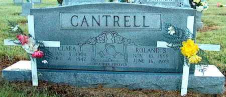 CANTRELL, CLARA - DeKalb County, Tennessee | CLARA CANTRELL - Tennessee Gravestone Photos