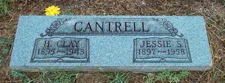 CANTRELL, H. CLAY - DeKalb County, Tennessee | H. CLAY CANTRELL - Tennessee Gravestone Photos