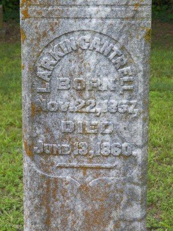 CANTRELL, LARKIN (CLOSE UP) - DeKalb County, Tennessee | LARKIN (CLOSE UP) CANTRELL - Tennessee Gravestone Photos
