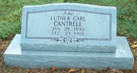 CANTRELL, LUTHER CARL - DeKalb County, Tennessee | LUTHER CARL CANTRELL - Tennessee Gravestone Photos