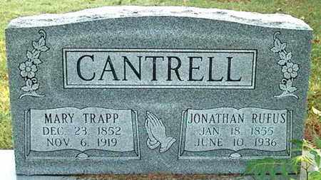 CANTRELL, MARY - DeKalb County, Tennessee | MARY CANTRELL - Tennessee Gravestone Photos