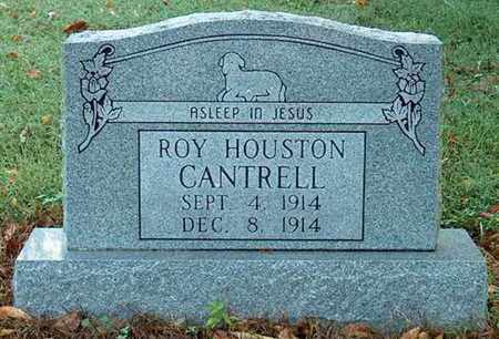 CANTRELL, ROY HOUSTON - DeKalb County, Tennessee | ROY HOUSTON CANTRELL - Tennessee Gravestone Photos