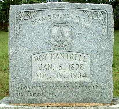 CANTRELL, ROY - DeKalb County, Tennessee | ROY CANTRELL - Tennessee Gravestone Photos