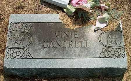 CANTRELL, VINIE - DeKalb County, Tennessee | VINIE CANTRELL - Tennessee Gravestone Photos