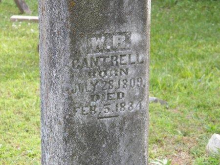 CANTRELL, WILLIAM RILEY (CLOSE UP) - DeKalb County, Tennessee   WILLIAM RILEY (CLOSE UP) CANTRELL - Tennessee Gravestone Photos
