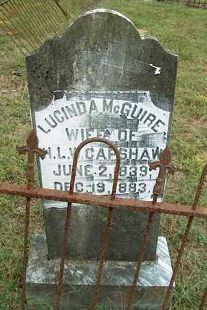 CAPSHAW, LUCINDA A. - DeKalb County, Tennessee | LUCINDA A. CAPSHAW - Tennessee Gravestone Photos