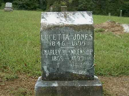 JONES, LUCETTA - DeKalb County, Tennessee | LUCETTA JONES - Tennessee Gravestone Photos