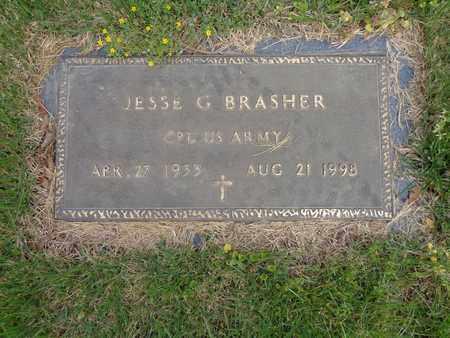 BRASHER (VETERAN), JESSE G - Decatur County, Tennessee | JESSE G BRASHER (VETERAN) - Tennessee Gravestone Photos