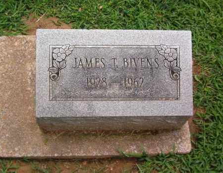 BIVENS, JAMES T. - Dyer County, Tennessee | JAMES T. BIVENS - Tennessee Gravestone Photos