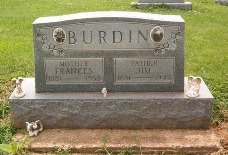 KENNEDY BURDIN, FRANCES - Dyer County, Tennessee | FRANCES KENNEDY BURDIN - Tennessee Gravestone Photos