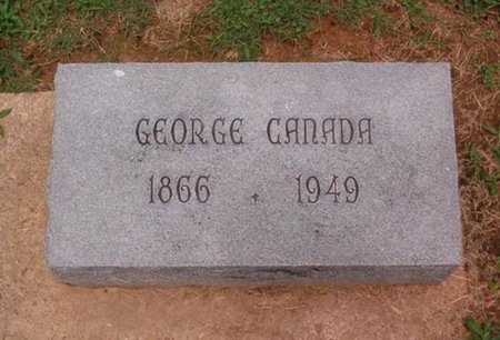 CANADA, GEORGE - Dyer County, Tennessee | GEORGE CANADA - Tennessee Gravestone Photos